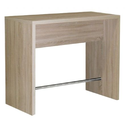 Designer sonama oak bar table unit
